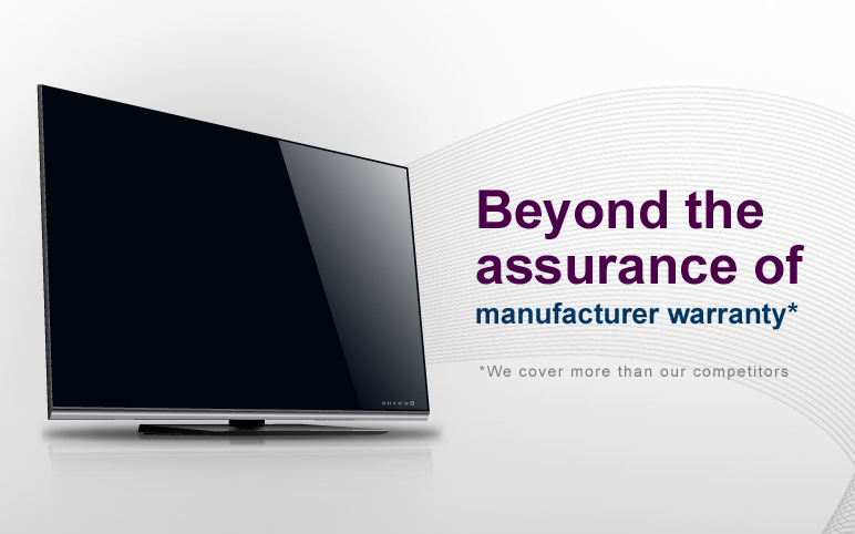 Beyond the assurance of manufacture warranty